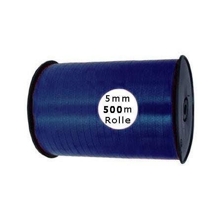 Ringelband: 5mm breit / 500m-Rolle, marineblau