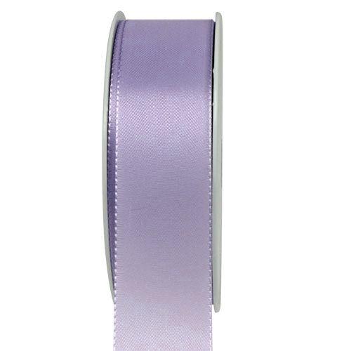Taftband: 40mm breit / 50m-Rolle, flieder.
