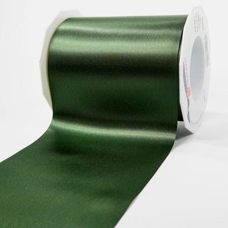 Satinband-ADRIA, dunkelgrün: 112 mm breit / 25 m - Tischband