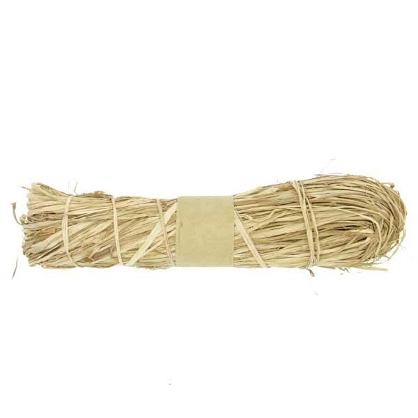 NATUR-Raffia-Bast: 50 Gramm Bund