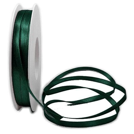 Satinband SINFINITY, opalgrün: 6mm breit / 50m-Rolle, mit feiner Webkante.