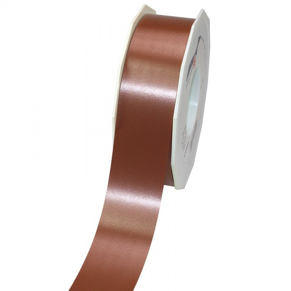 Polyband-AMERICA: 40mm breit / 91m-Rolle, kaffeebraun