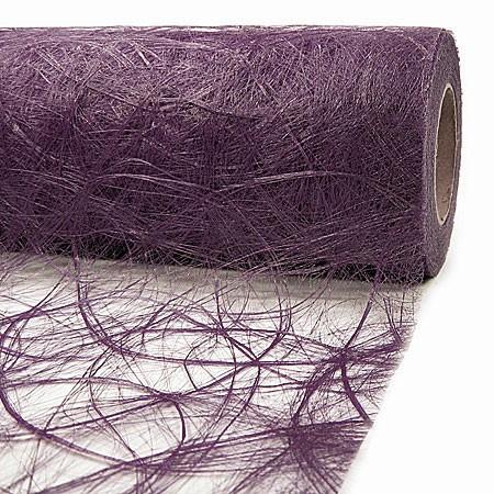 Sizoweb: 30cm breit / 25m-Rolle, violett.