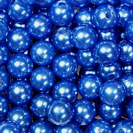 Deko-PERLEN blau
