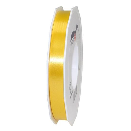 Polyband-AMERICA: 15mm breit / 91m-Rolle, gelb.