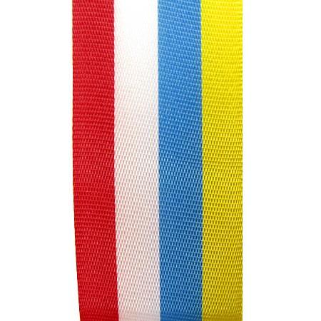 Vereinsband KARNEVAL, 25mm breit / 25m-Rolle