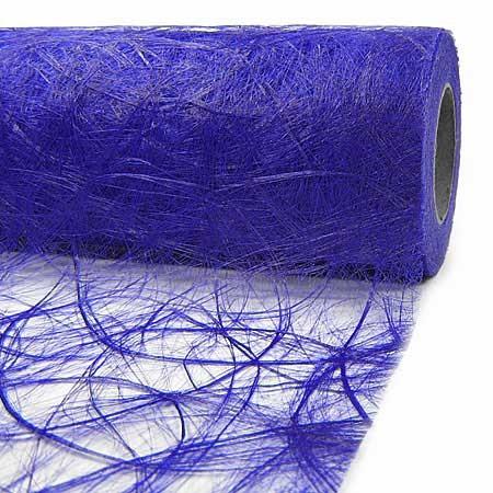 Sizoweb Dekovlies: 60cm breit / 25m-Rolle, blau
