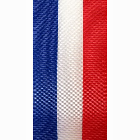 Nationalband FRANKREICH/NIEDERLANDE, 40mm breit / 25m-Rolle