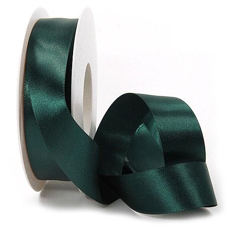 Satinband SINFINITY, opalgrün: 25mm breit / 25m-Rolle, mit feiner Webkante.
