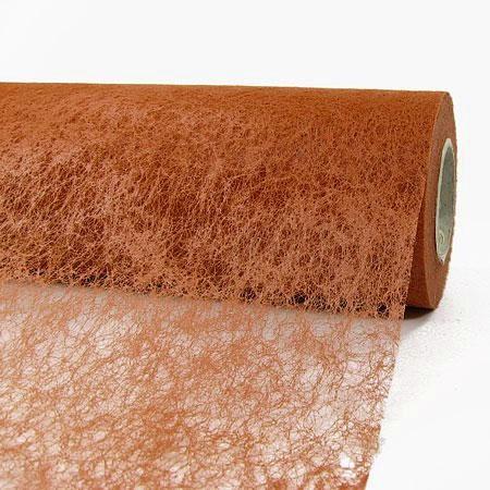Deko-Vlies: 230mm breit / 20m-Rolle, terracotta