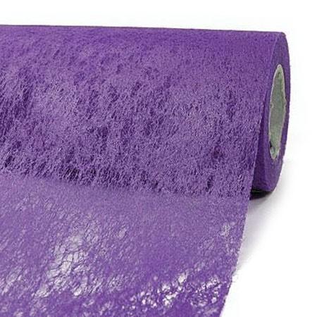Deko-Vlies: 230mm breit / 20m-Rolle, lila-violett