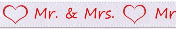 Mr. & Mrs. weiss: 15mm breit / 25m-Rolle