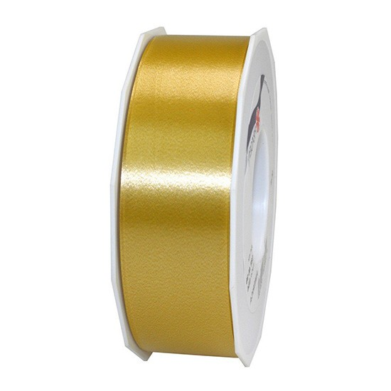 Polyband-AMERICA: 40mm breit / 91m-Rolle, gold