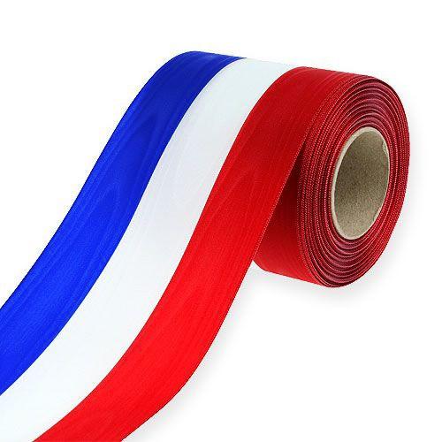 """Nationalband """"Frankreich"""" und """"Niederlande"""": 150mm breit / 25m-Rolle"""
