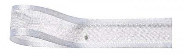 Florband: 25mm breit / 25m-Rolle, weiss