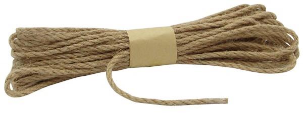 JUTE-Kordel, natur: 5 mm breit - 10 Meter