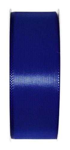 Taftband: 40mm breit / 50m-Rolle, dunkelblau.