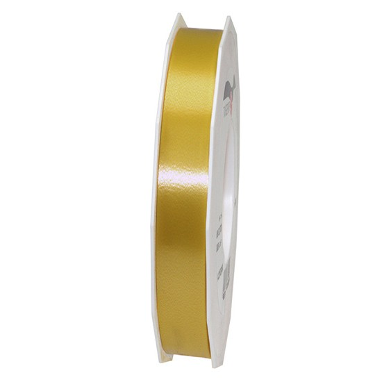Polyband-AMERICA: 15mm breit / 91m-Rolle, gold.