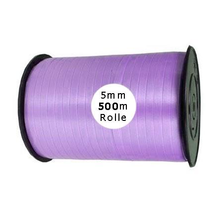 Ringelband: 5mm breit / 500m-Rolle, lavendel