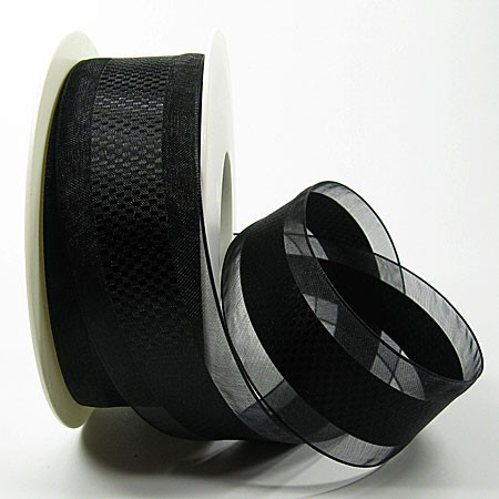 Emotion schwarz, 38mm breit / 25m-Rolle