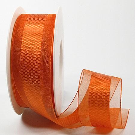 Emotion orange 38mm breit / 25m-Rolle