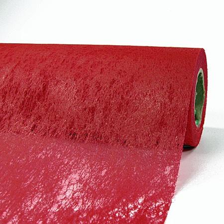 Deko-Vlies: 700mm breit / 25m-Rolle, weinrot