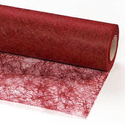 Sizoflor®: 60cm breit / 25m-Rolle, weinrot