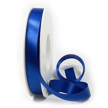 Satinband-SATINA: 15mm breit / 50m-Rolle, royalblau