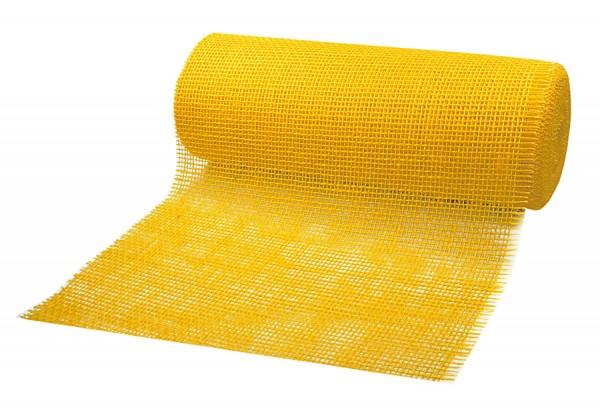 DEKOR-Jute - Tischläufer: 300mm breit / 10m-Rolle, gelb