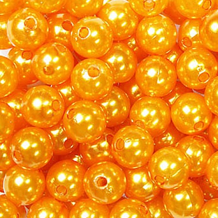 Deko-PERLEN orange