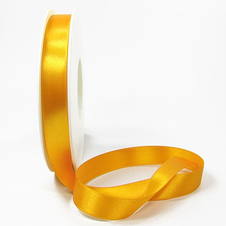 "Kommunionsband ""1. hl. Kommunion""- 15mm breit / 25m Rolle, Bandfarbe: gelb"