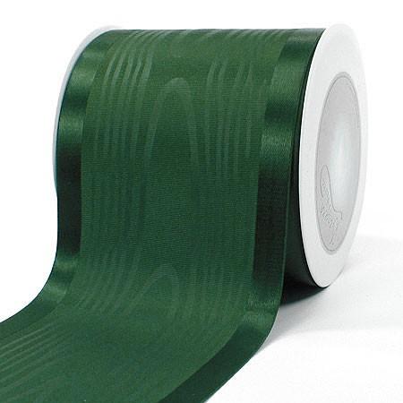 Satinband-Tischband Luxury: 100 mm breit / 20 m-Rolle, tannengrün