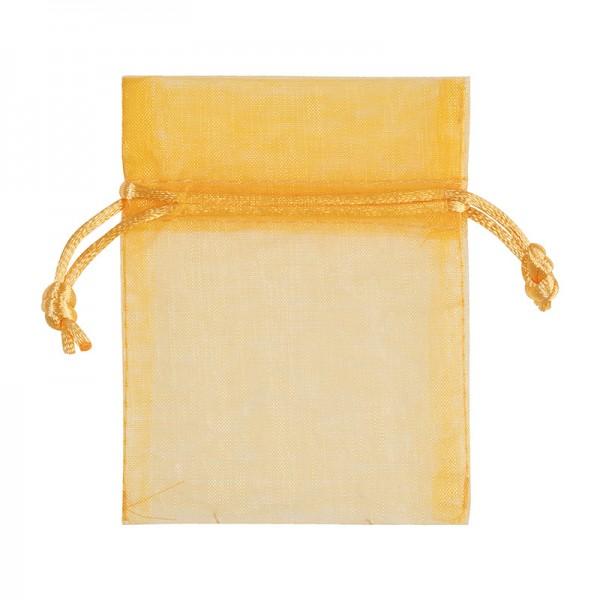 Organzabeutel: 7cm x 10cm, gelb: 8VFB10715