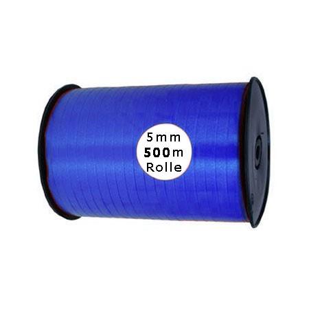 Ringelband: 5mm breit / 500m-Rolle, royalblau
