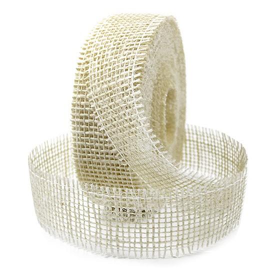Juteband-Rupfenband: 40mm breit / 25m-Rolle
