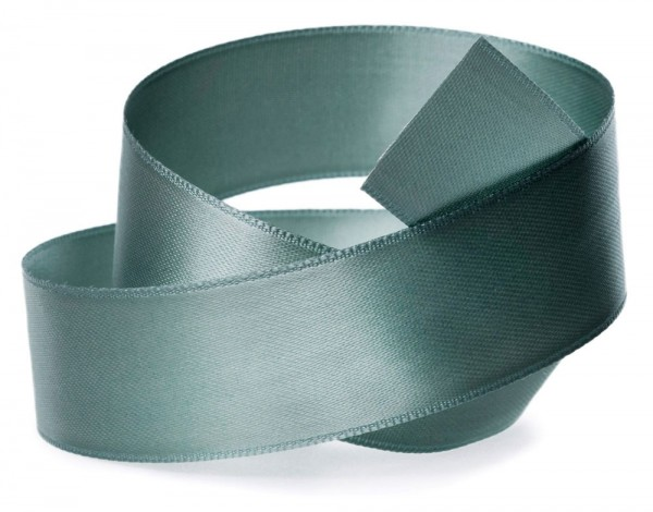 Satinband SATINA, seladon-grün: 40 mm breit, 50 Meter