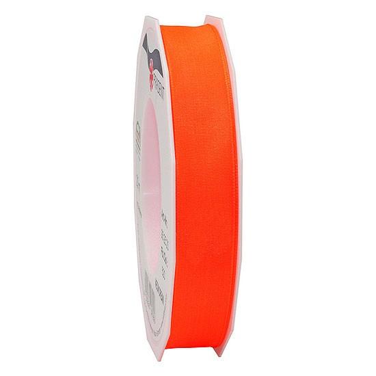 DREAM-Drahtkantenband: 15mm breit / 20m-Rolle, Neon-orange